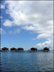 Fadhila Cottages, Togian Dive Resort, Sulawesi